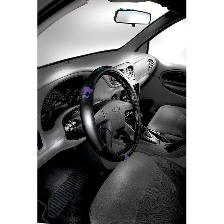 Kansas State Wildcats Embossed Steering Wheel Cover