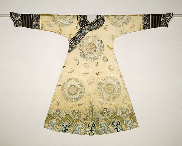 Woman's Ceremonial Robe (The Bat Medallion Robe) first half of the18th century   China   Qing dynasty (1644–1911)   The Met