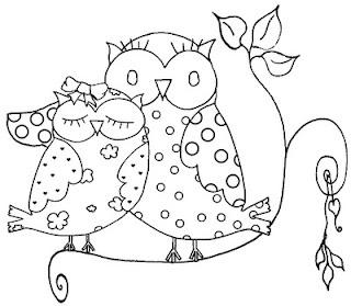 "pop ""n"" stick - free owl image"