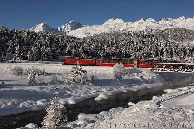 Bernina, Pontresina, Express, Graubünden, Kanton