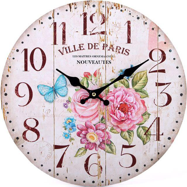 Ville De Paris Clock (measures approx. 34cm across)