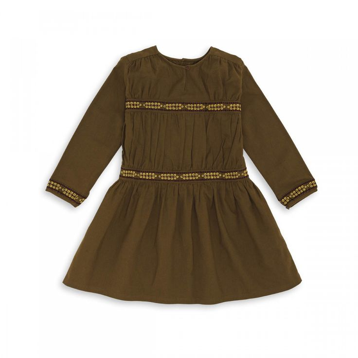 Robe brodée jasper - robe filles / garçons - bonton 1