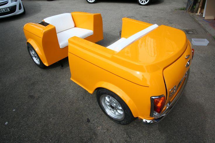 Mini Sofa set by George Ioannou www.artrebellion.co.uk