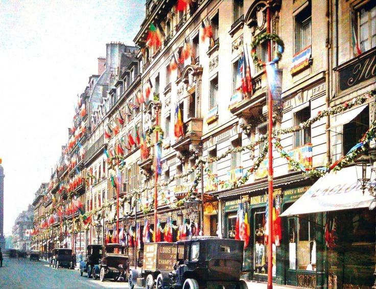 Rue de la Paix 1919