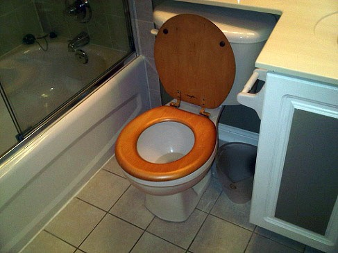 top fixing wooden toilet seat. What are the top signs of a really old bathroom  I can t think anything better than wooden toilet seat As hard as it is to believe that this was ever Best 25 Wooden seats ideas on Pinterest Composting