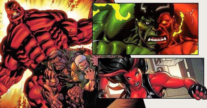 Thunderbolt Ross foi criado em 1962 por Stan Lee e Jack Kirby, mas só veio a se tornar o Hulk Vermelho em 2008, nas mãos de Jeph Loeb e Ed McGuinness. Apesar de sua história recente,Rulklogo se tornou um dos maiores inimigos do incrível Hulk. Aqui estão algumas curiosidades sobre o personagem!