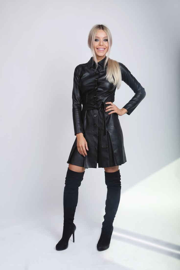 Black Buttoned Trench! http://www.noire.ro/product/black-button-trench/