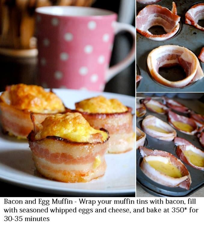 Bacon and Egg Muffin   #CleanFoodLiving