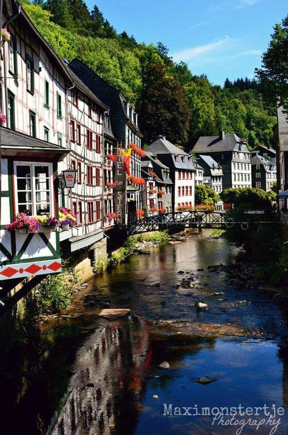 In Monschau, Germany.