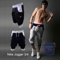 Celana Jogger Pendek 3/4 Nike Motif