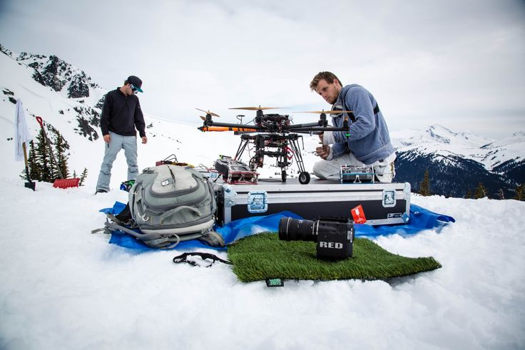 "Drones in the Snow: Filming the Nike ""Never Not"" Snowboarding Video"