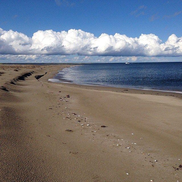 Earlier this week at #Kouchibouguac National Park #beach #dunes #sand #clouds #sky #nbfall #nature #beauty
