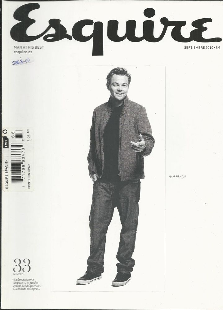 Esquire Magazine Leonardo Dicaprio Blake Lively Phil Collins Louis