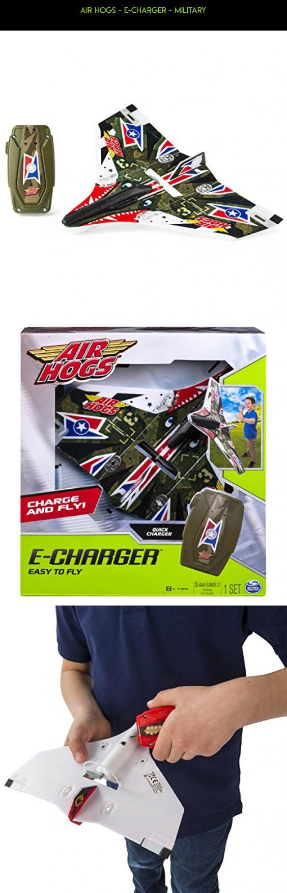 Air Hogs - E-Charger - Military #plans #fpv #tech #technology #camera #rc #parts #hogs #products #gadgets #plane #racing #air #drone #kit #shopping