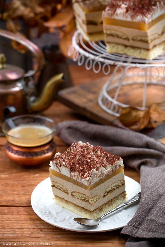 Cappuccino pear cake / Ciasto cappuccino / Ciasto z gruszkami