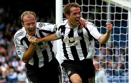 Alan Shearer & Michael Owen, Newcastle United
