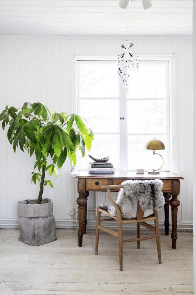 Estilo Escandinavo - clean, aconchegante, minimalista. Base neutra - branco, bege e cinza. Abuse dos tecidos com textura, tapetes que imitam pele de carneiro e mantas.