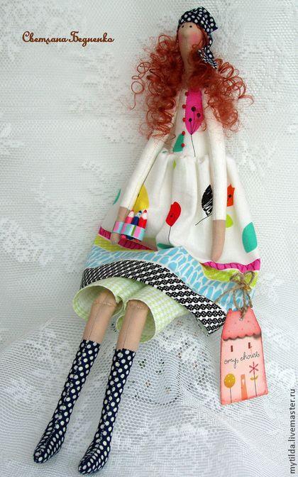 Куклы Тильды ручной работы. Ярмарка Мастеров - ручная работа Творческая натура. Handmade.♡
