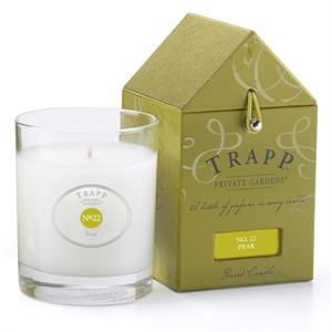 Trapp Candle Pear-I haven't tried this one yet, but Trapp is my ALL TIME FAVORITE candle. I keep trying others, but always come back to these.