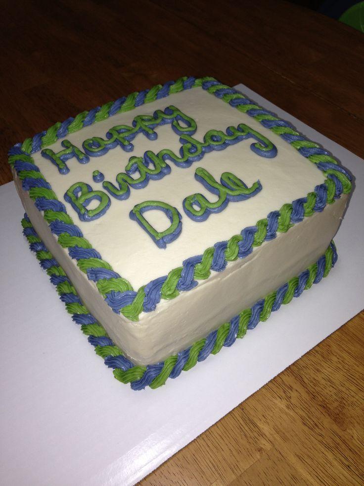 Happy Birthday Adam Cake