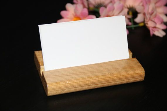 Business Card Holder Made From Recycled by DelightGalleryCrafts