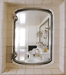 porthole window in shower wall!