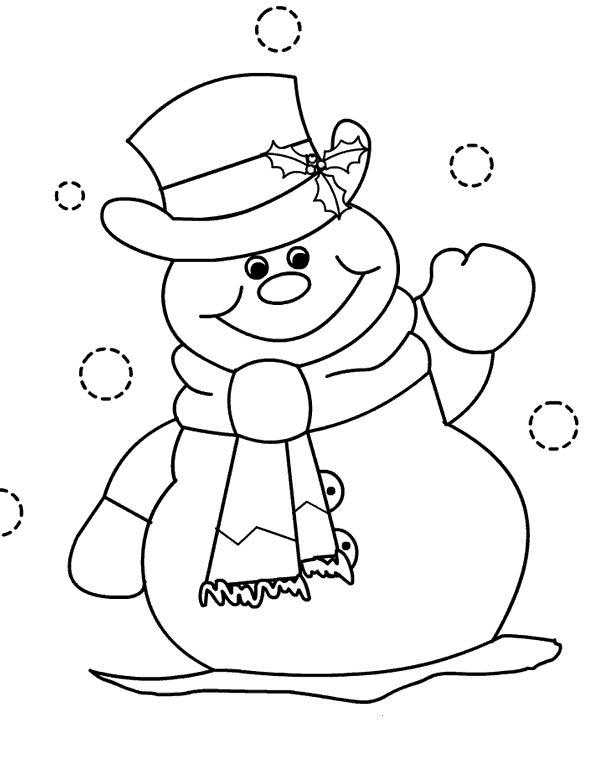 dibujo muñeco de nieve - Buscar con Google