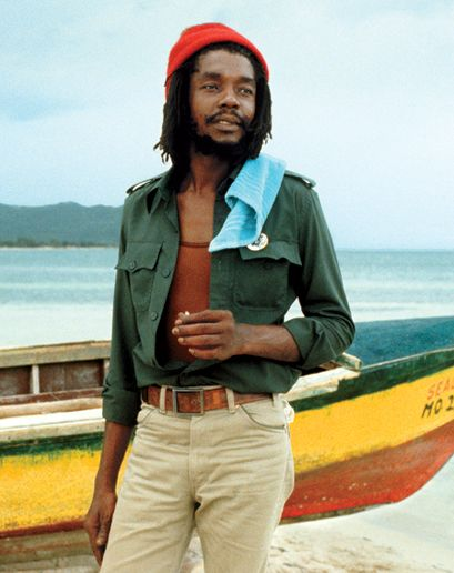 Peter Tosh was fresh with it ... The right amount of color combinations together