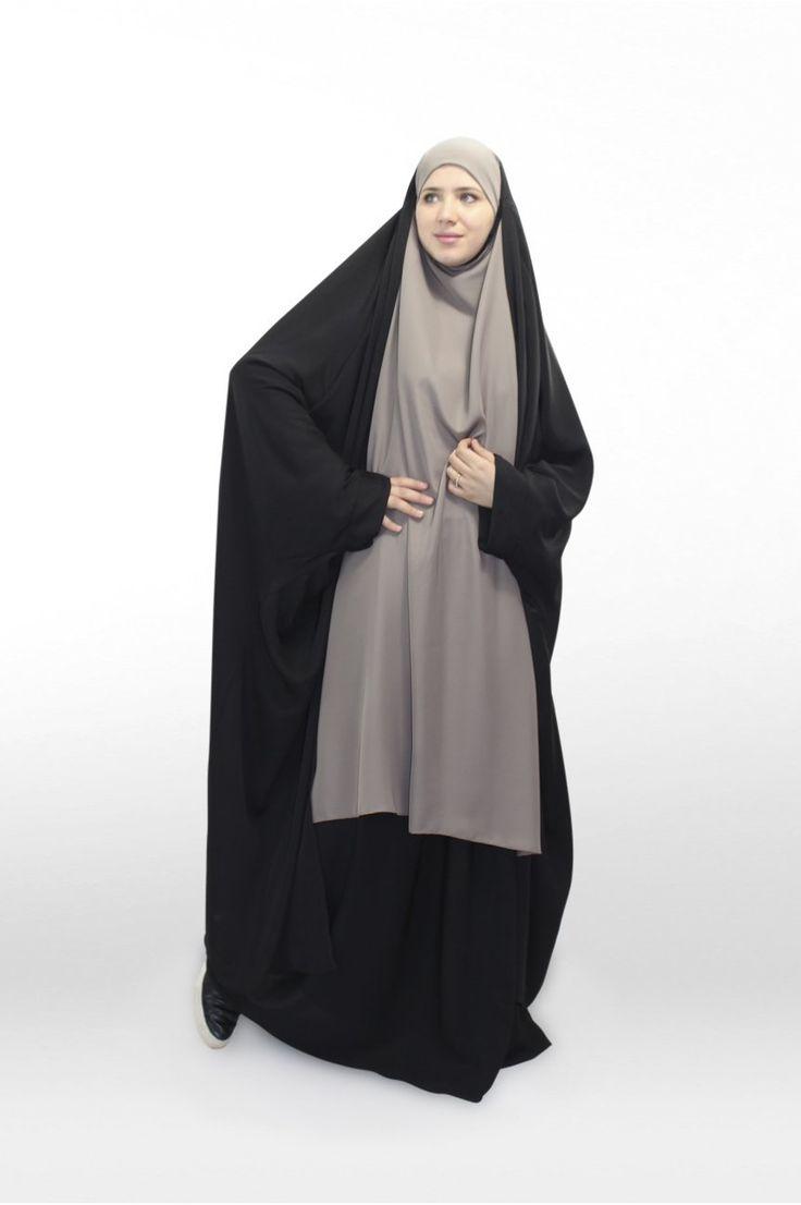 Jilbab Gilet Saoudien Nidha