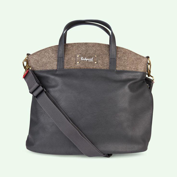 Grey Babymel Grace Changing Bag