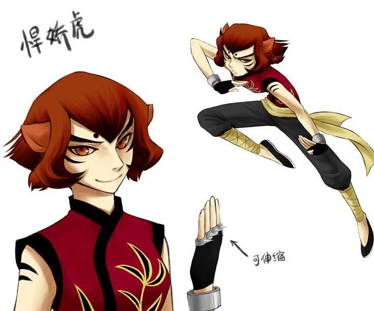 Tigress human | Cartoons: Anime Style | Pinterest | Kung ...