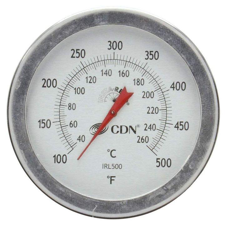 CDN IRL500 Long Stem Fry Thermometer 12
