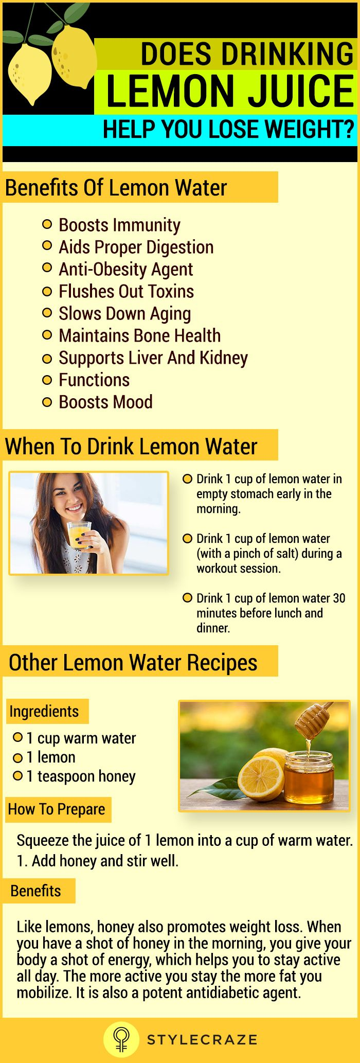 Losing weight is tough! Diets are boring, and workouts are tiring. But the secret to losing those few extra pounds without the stress of dieting or working out is lemon juice. Having lemon juice thrice a day can melt the fat away!