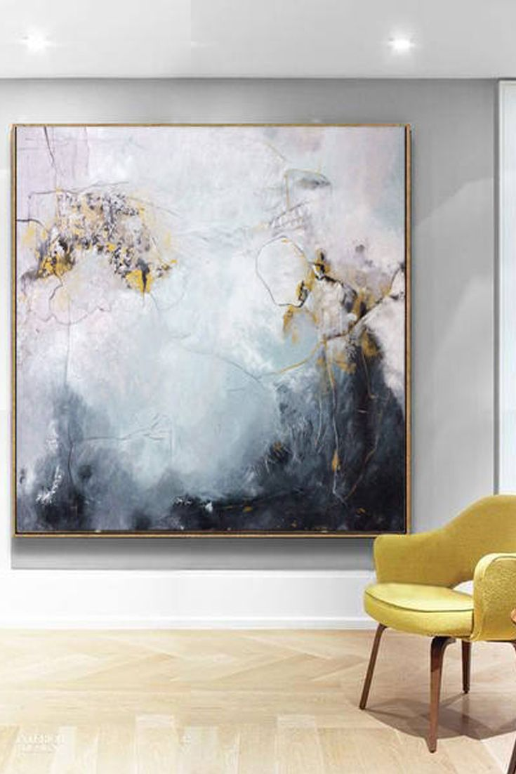 Large Oil Painting Abstract Black And White Art Gray Painting Etsy Abstract Art Painting Oil Painting Abstract Modern Art Paintings Abstract