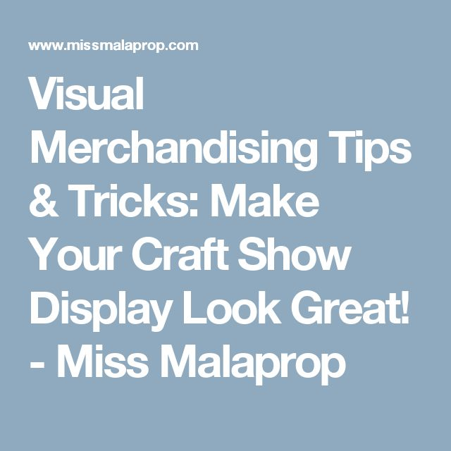 36 tips on visual merchandising Visual merchandising and retail floor displays are key to any business's success here are some handy tricks for retail small businesses to compete effectively.