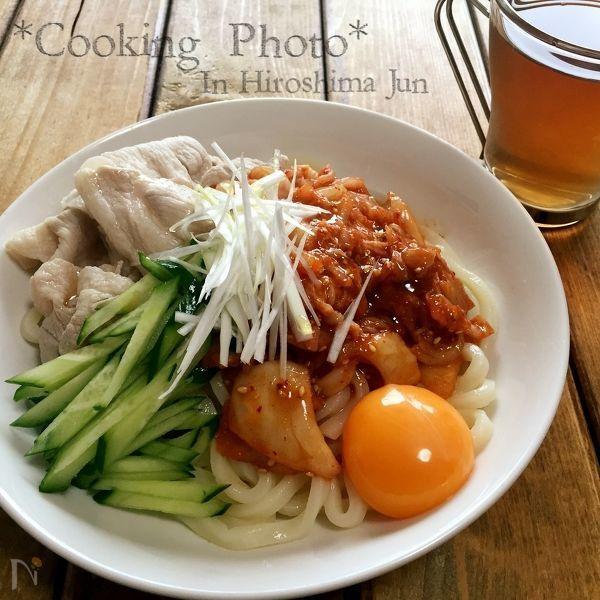 ✨豚しゃぶキムチの冷やしうどん✨ by MOYU | レシピサイト「Nadia | ナディア」プロの料理を無料で検索