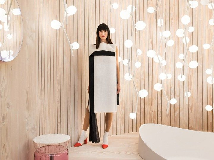 See what else Architronic has to say about Lucie Koldova's Das Haus at the imm cologne 2018. bit.ly/2DYW7nT BROKIS - LIGHTS - INTERIOR - DESIGN