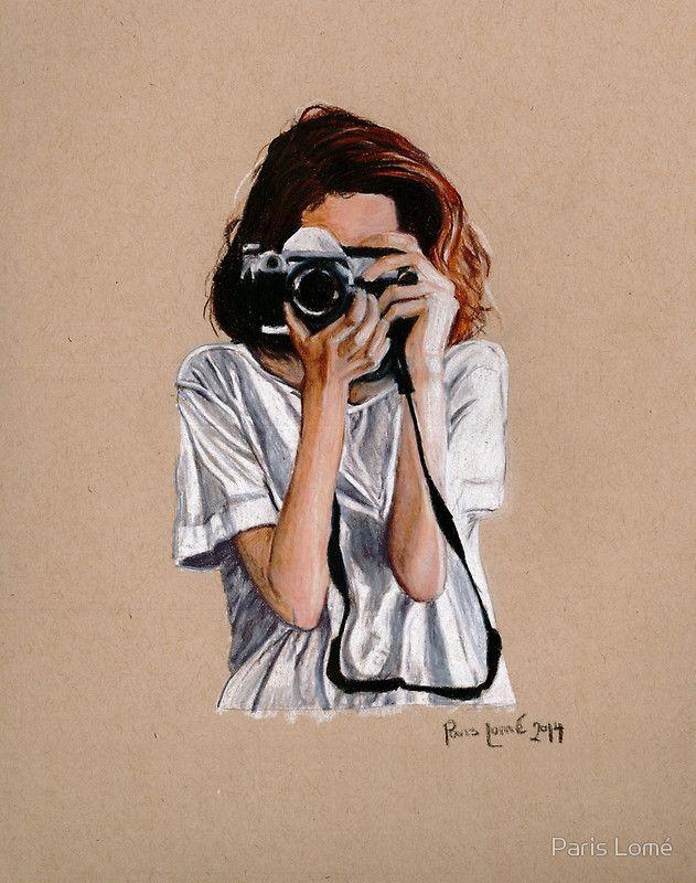 El fotógrafo | Lámina artística