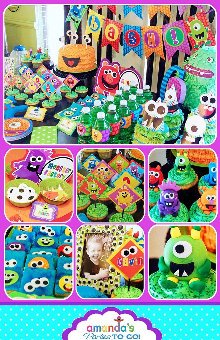 Monster Party Birthday - Monster Bash -
