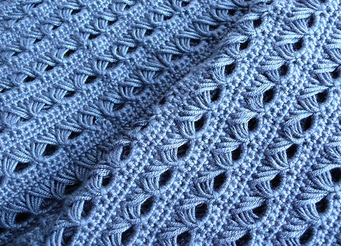 11 Best Broomstick Lace Images On Pinterest Knitted Afghans