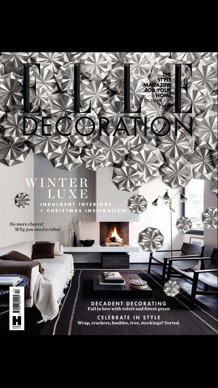 Elle UK - december 2015  #interiordesigners #damonteelacarrieu #design #interiors #homedecoration #frenchriviera #cotedazur #sainttropez