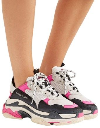 9981513c4d Balenciaga Pink/White/Black Famous Women's Triple S Sneakers Sneakers Size  EU 39 (Approx. US 9) Regular (M, B). Get the must-have athletic shoes of  this ...