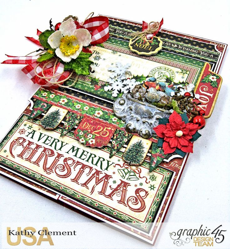 How to A Very Merry Christmas St. Nicholas Gatefold Card                                                                                                                                                                                 More