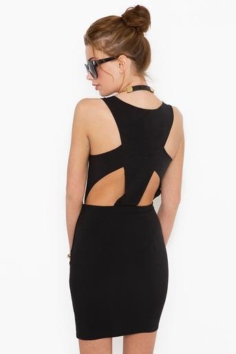 : Cutouts, Dresses Black, Cutout Dresses, Black Dresses, Emmy Cutout, Clothing, Dresses Getintomycloset, Nasty Gal, Cut Outs