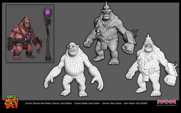 Ten Ton Gorilla: The Orcs Must Die! Lost Adventures DLC Cyclops Shaman model...