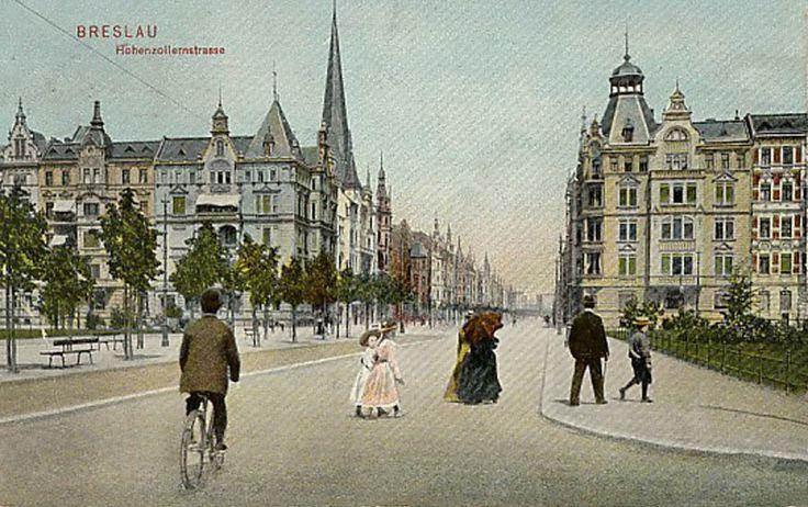 Ulica Zaporoska, pewnie w niedzielę  widok w kierunku północno-wschodnim Rok 1912