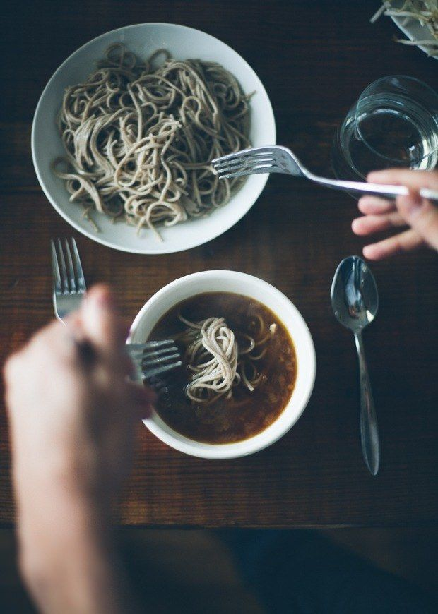 Balsamic Vegetable Noodle Soup