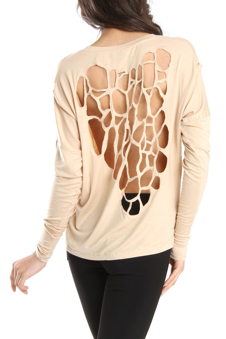 Cut Out Shirt. Cheetah?