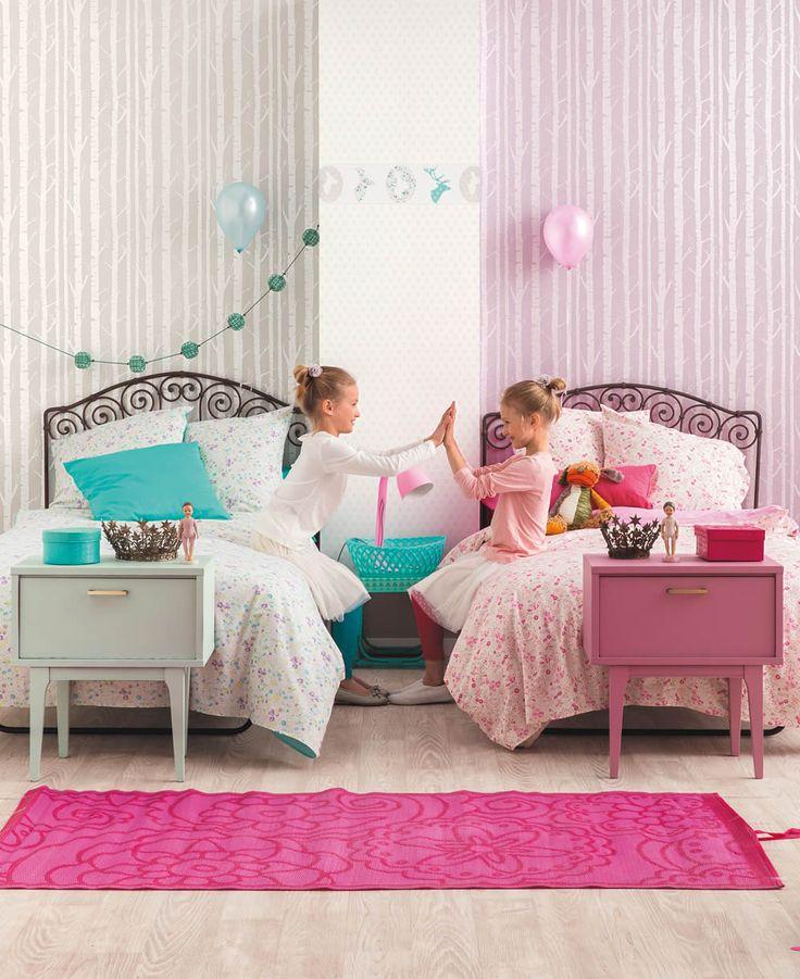 19 besten Caselio Oh la la - Tapeten für jedes Mädchenzimmer - babyzimmer orange grn