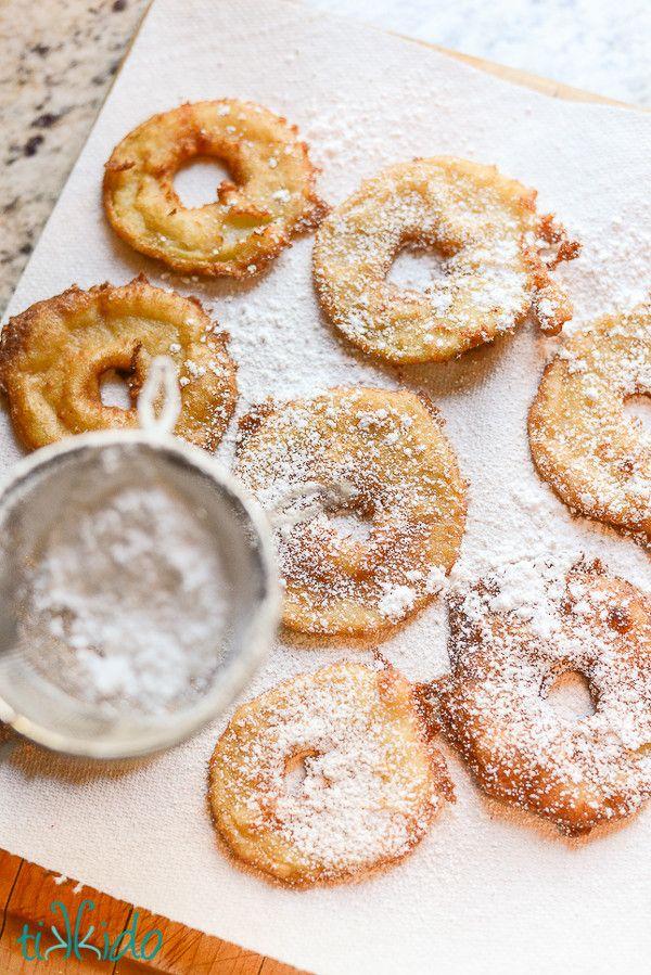 YUMMY! Apple Crisp Rings, foods, dessert, snacks